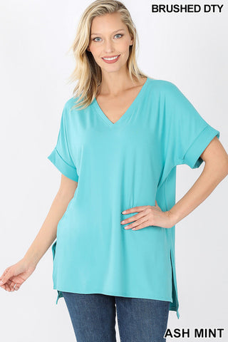 Rolled Sleeve Tunic