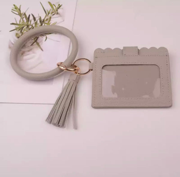 Bangle Key Ring and Card Wallet