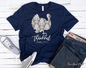 Damask Turkey T-shirt