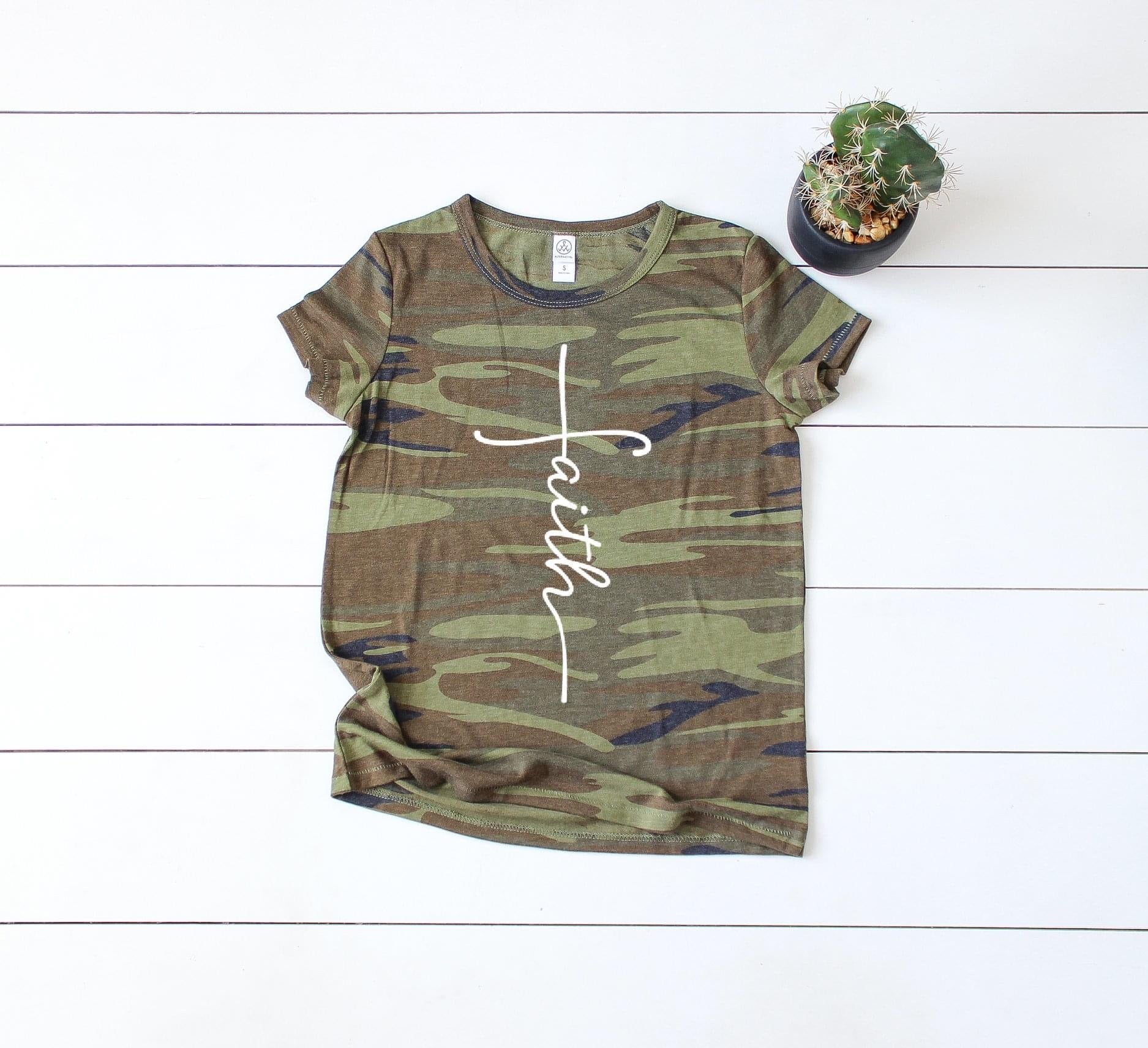 Camo Faith T-shirt