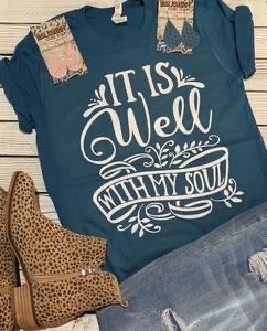 It is Well T-shirt