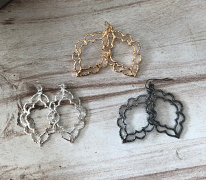 Open Filigree Earrings