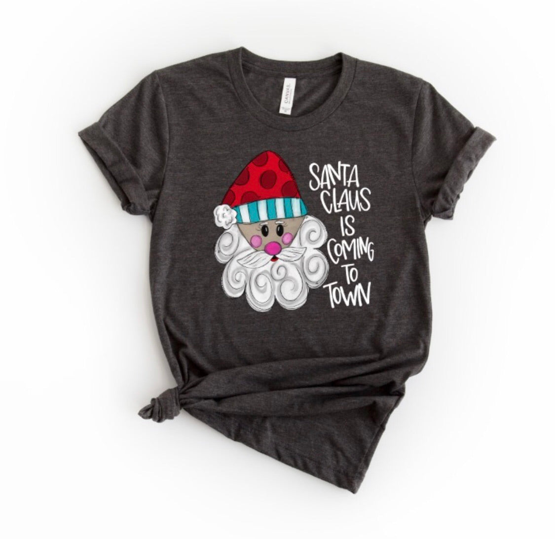 Santa Claus is Coming to Town T-shirt