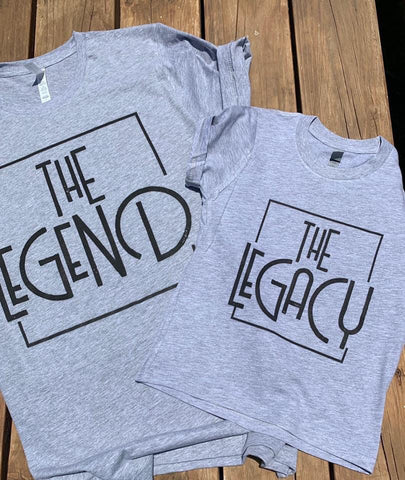 The Legend/The Legacy Tee