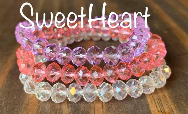 8mm Valentine Bracelet Sets