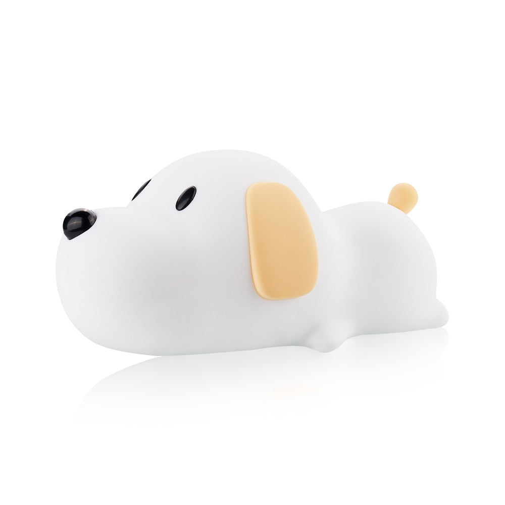 FabFalcon Cute Puppy LED Silicone Nightlight™