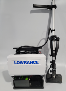 Lowrance Active Target Transducer Pole With Quick Disconnect Transducer Mount