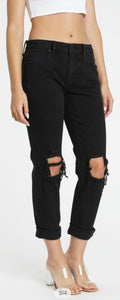 BLACK FRIDAY FRANKIE MID RISE GIRLFRIEND JEANS