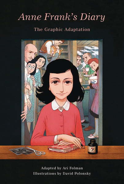 ANNE FRANKS DIARY GRAPHIC ADAPTATION HC (C: 0-1-0)