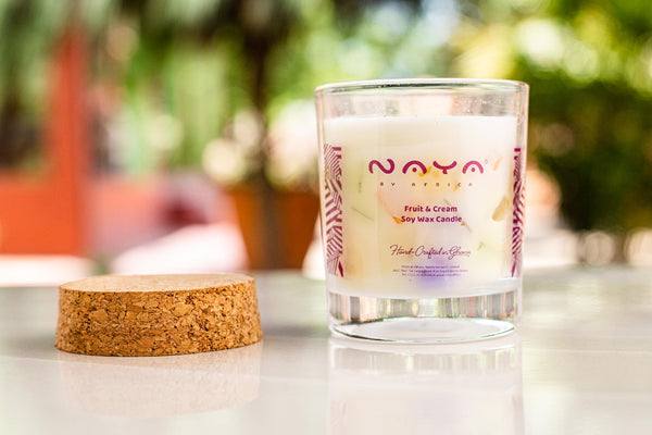 Fruit & Cream Soy Wax Candle