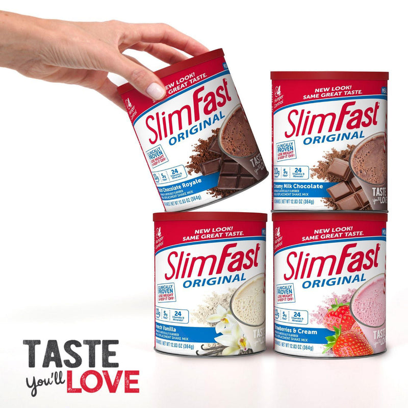 SlimFast Original Chocolate Royale Shake Mix (31.18oz.)