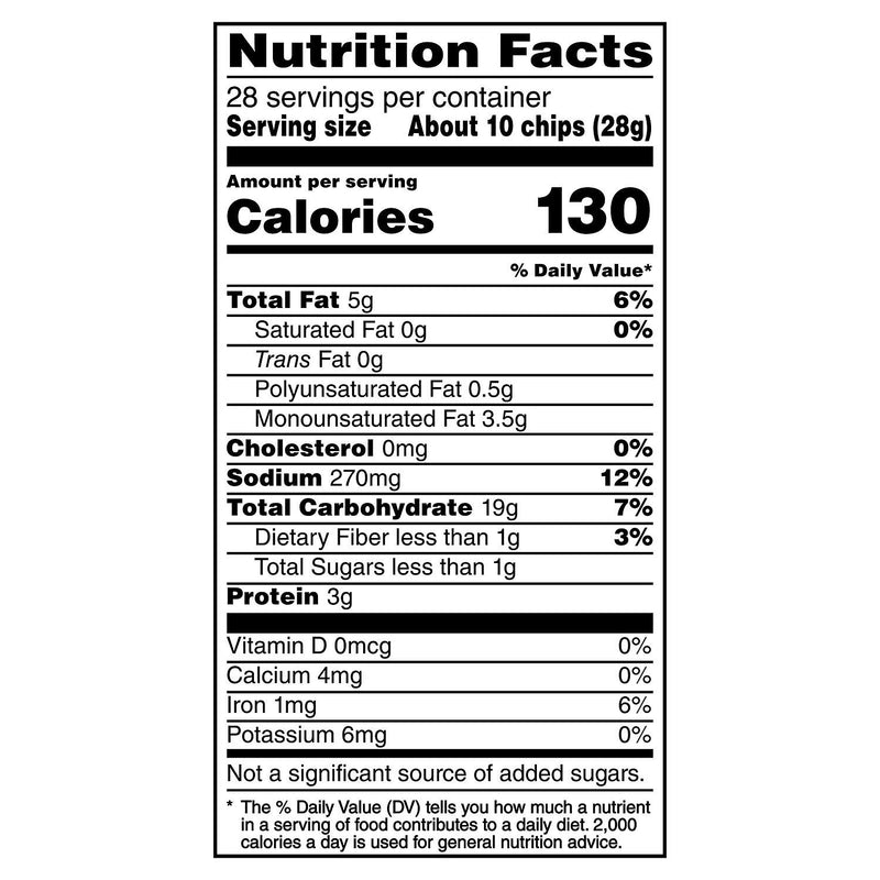 Stacy's Pita Chips Simply Naked (28 oz.) (Min 2 per order)