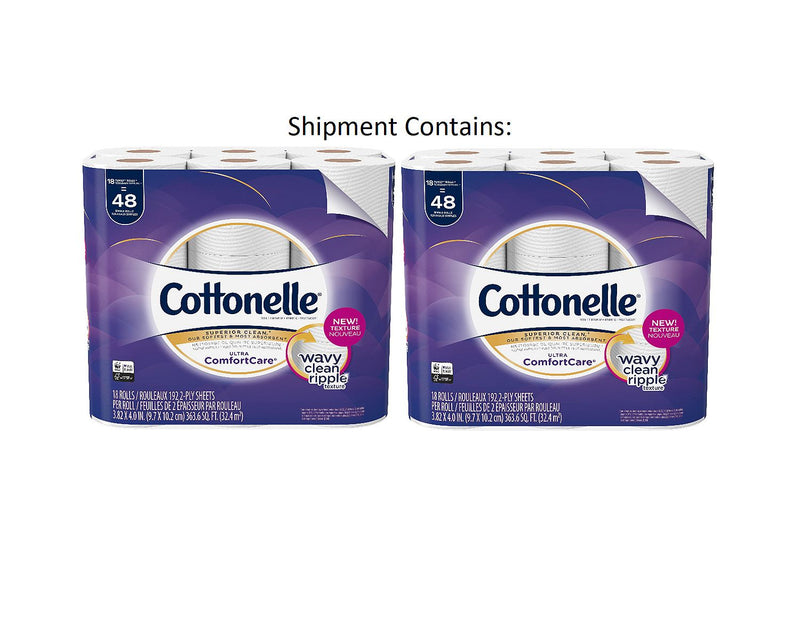 Cottonelle Ultra Comfort Care Toilet Paper (36 Family Rolls)