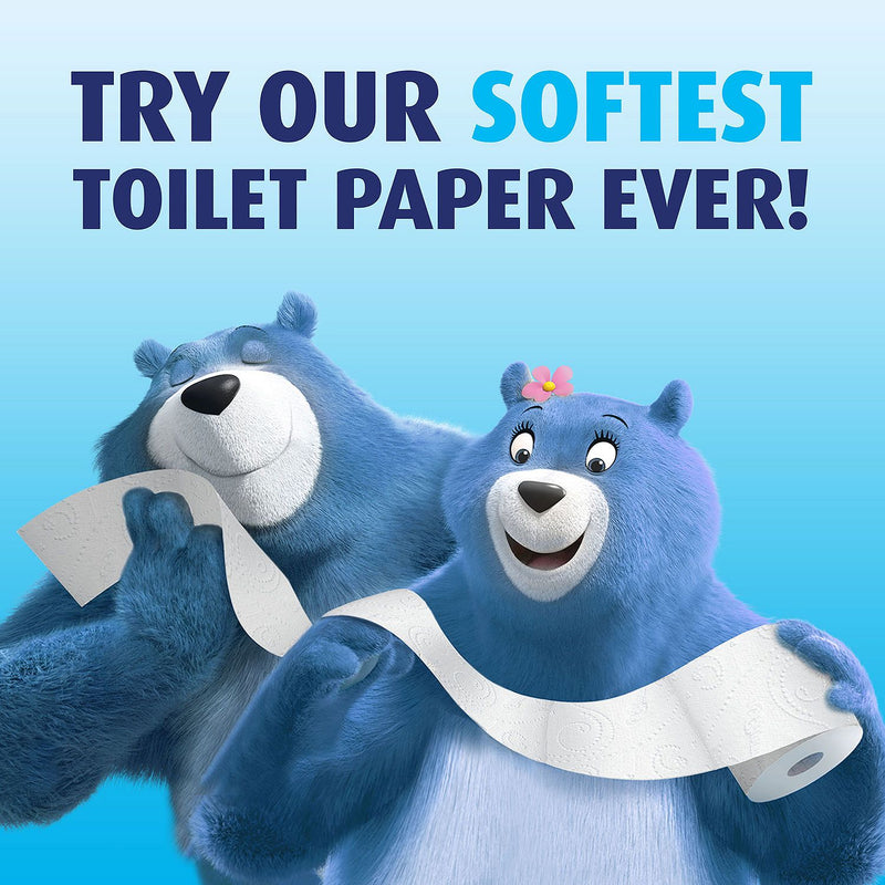 Charmin Ultra Soft Toilet Paper 45 Super Roll, Bath Tissue (208 sheets per...