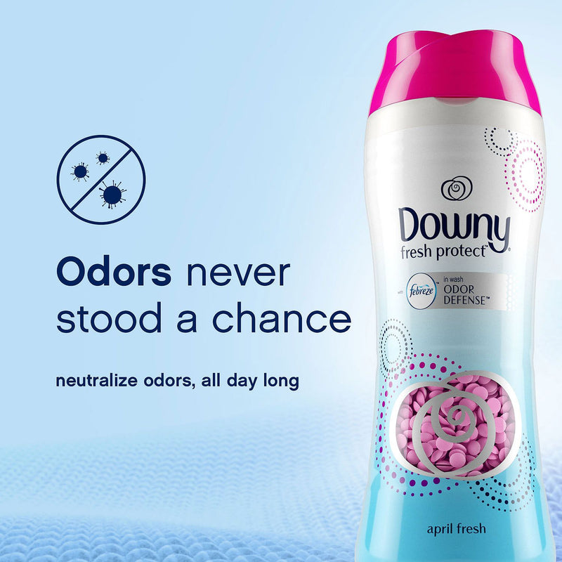 Downy Fresh Protect April Fresh with Febreze Odor Defense In-Wash Scent Beads (30.3 oz)