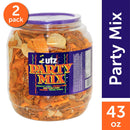 Utz Party Mix Barrels 43 oz. (2 ct.)