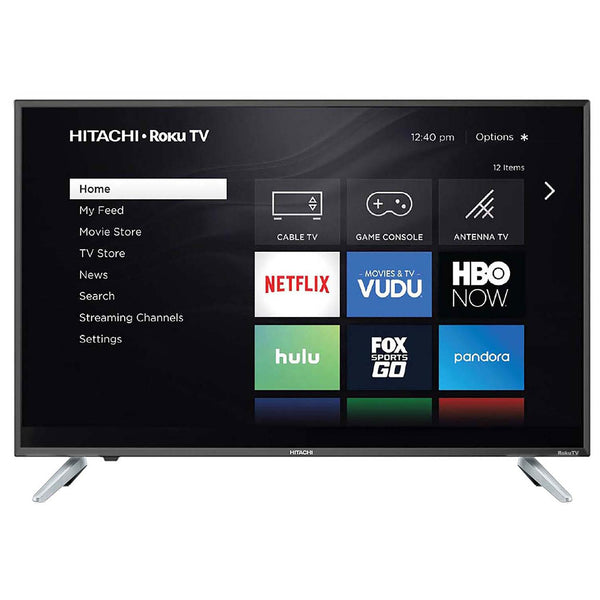 "Hitachi 50"" Class 4K UHD HDR TV with Roku TV - 50RC6"
