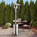 Member's Mark Patio Heater with LED-Adjustable Table-Wheels.