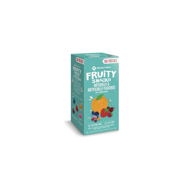 Member's Mark Fruity Snacks (0.8 oz., 100 pk.) (Min 2 per order)