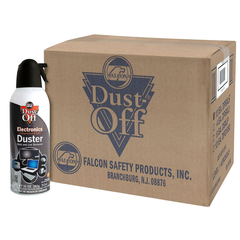 Falcon Dust-Off Compressed Gas Duster (10 oz., 12 Pack)