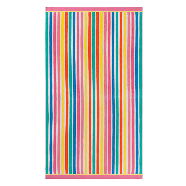 "Member's Mark Adult Beach Towel 40"" x 72"" (Candy Stripe)"