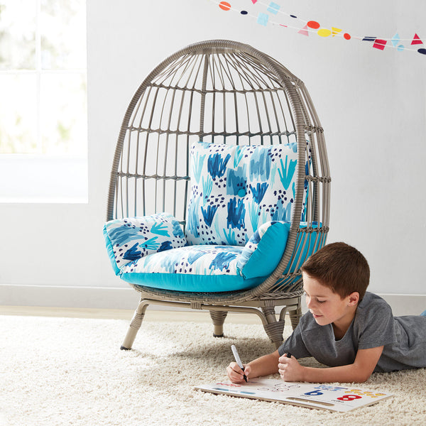 Member's Mark Kids' Egg Chair - color: Grey