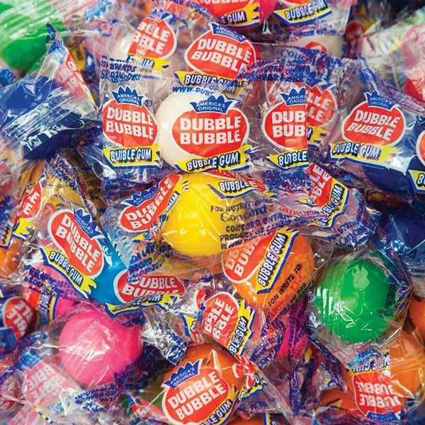 Dubble Bubble Individually Wrapped Gumballs (11.59lbs.)