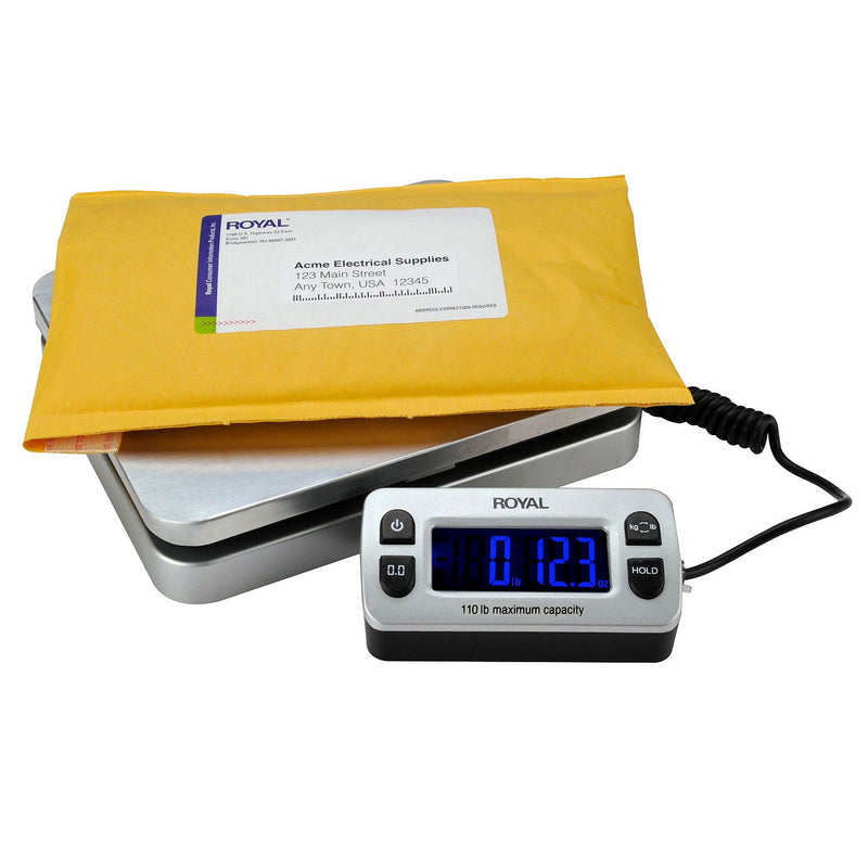Royal DG110 Shipping/Postal Scale, 110 lb. Capacity