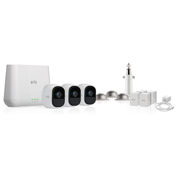 Arlo Pro Wire-free HD Security Cameras (3 Pack)