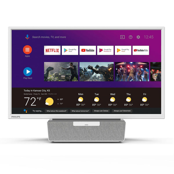 "Philips 24"" Class AndroidTV with Google Assistant LED HDTV"