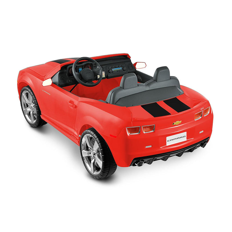 Kid Motorz-Kids car-Chevrolet Camaro Red-2 Seater-12V-FM Radio-MP3 jack -Ride-on Racing