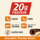 Premier Protein 20g Protein Bar, Variety Pack - Chocolate Brownie & Chocolate Peanut Butter (16 ct., 2.08 oz. ea.)