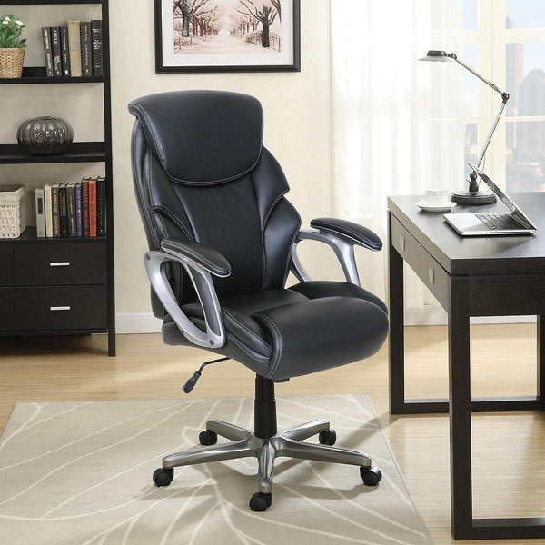 Serta Manager's Office Chair, Supports up to 250 lbs. (Color : Black)