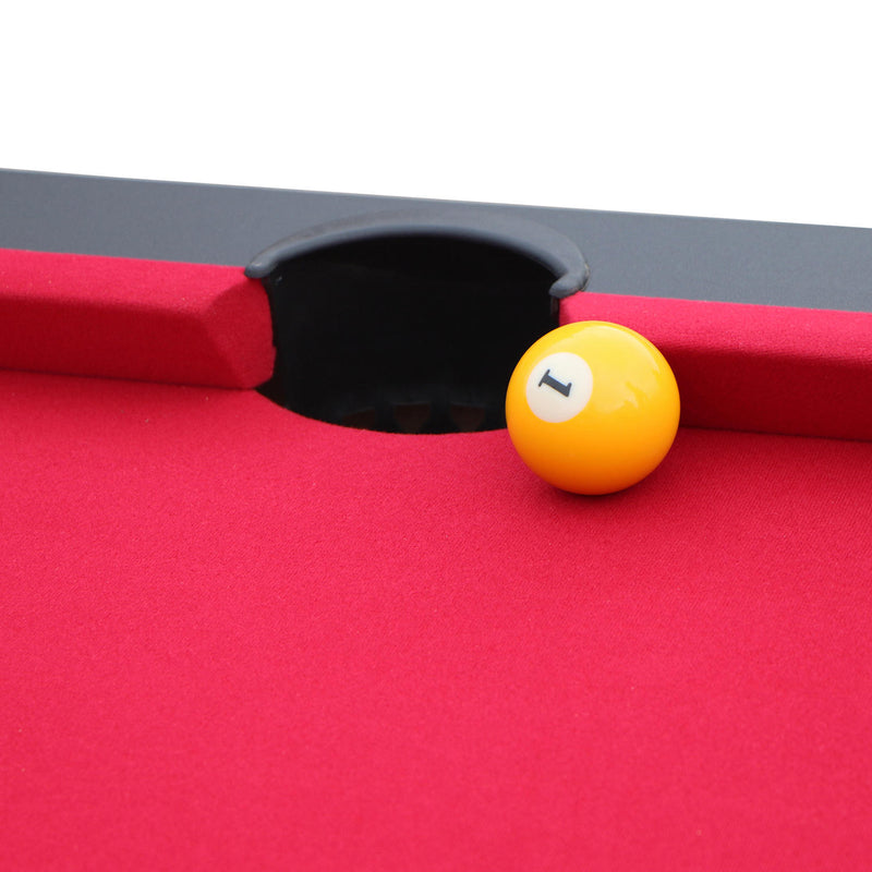 Jupiter 7' Pool Table - Black