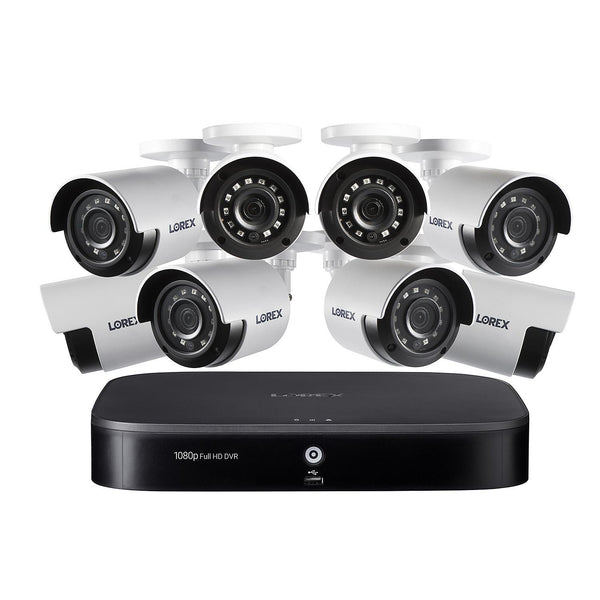 Lorex-Security Cameras- 8 Channel 1080P Surveillance System with 1TB HDD and 8 x Cameras