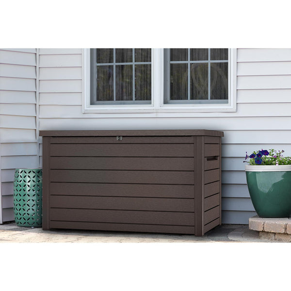 Keter 230-Gallon Deck Box (color: Brown)