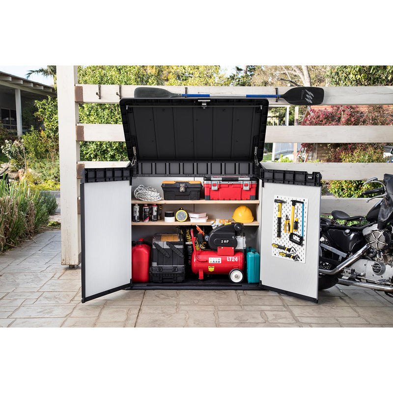 Keter Premier XL 41 cu. ft. Horizontal Outdoor Storage Shed