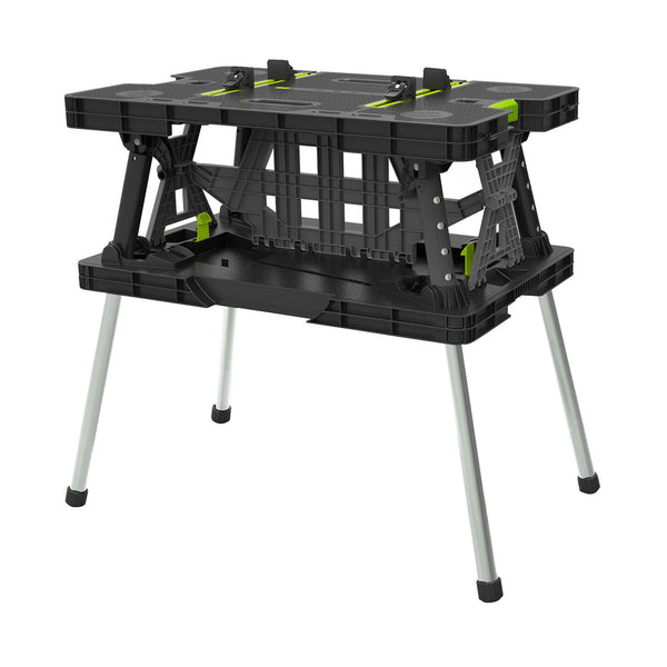 Keter Folding Work Table with Mini Clamps