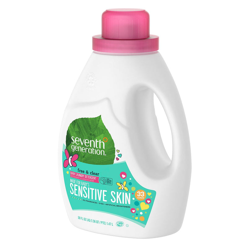 Seventh Generation Baby Natural Laundry Detergent (50 fl. oz.)