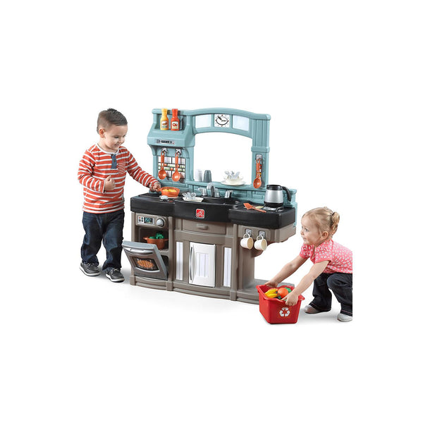 Step2-kids kitchen with fun sounds-lights-oven-Best Chef's Kitchen