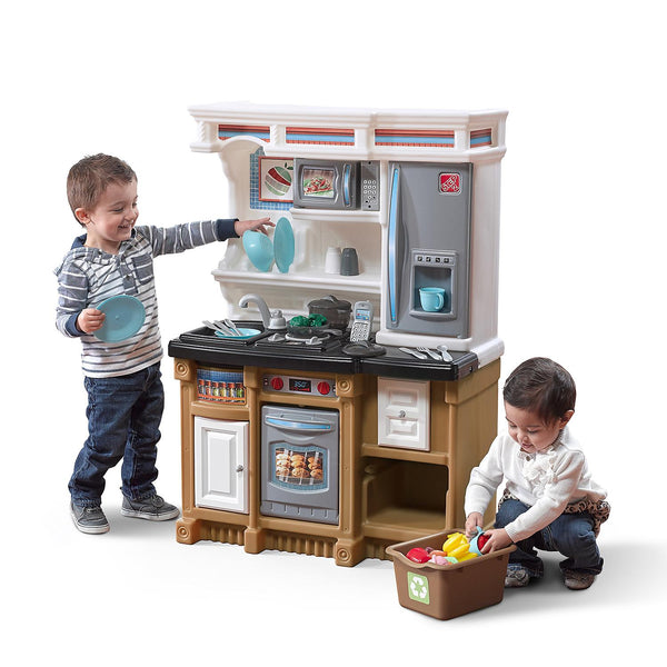 Step2-kids kitchen-Custom Kitchen-with electronic features