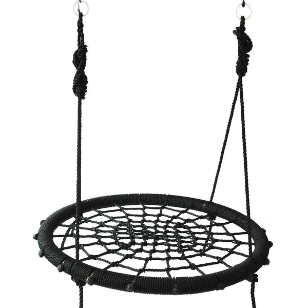 "40"" Webbed Nest Swing ( Black )"