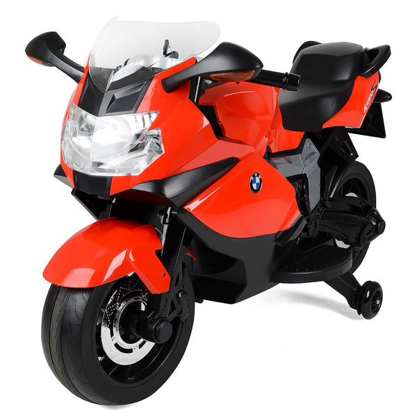 BMW-kids Motorcycles- K1300S Electric Ride-On 12V-Real key with engine sound- Officially licensed BMW product