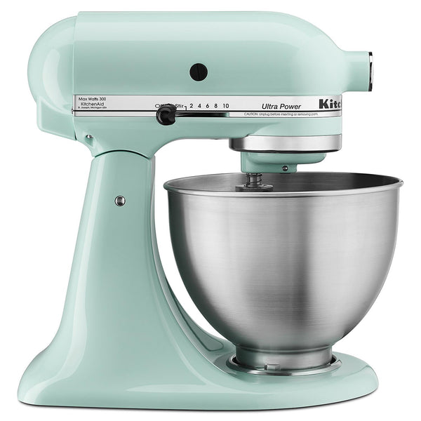 KitchenAid Ultra Power 4.5-Quart Tilt-Head Stand Mixer (Color: Ice Blue)