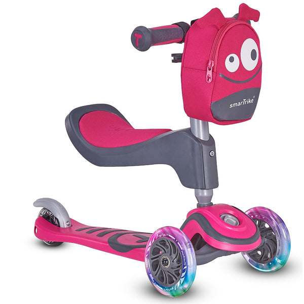 SmarTrike T1 Toddler T Scooter 3-in-1 (Color : Pink)
