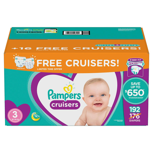 Pampers Cruisers Diapers ( Size 3 )