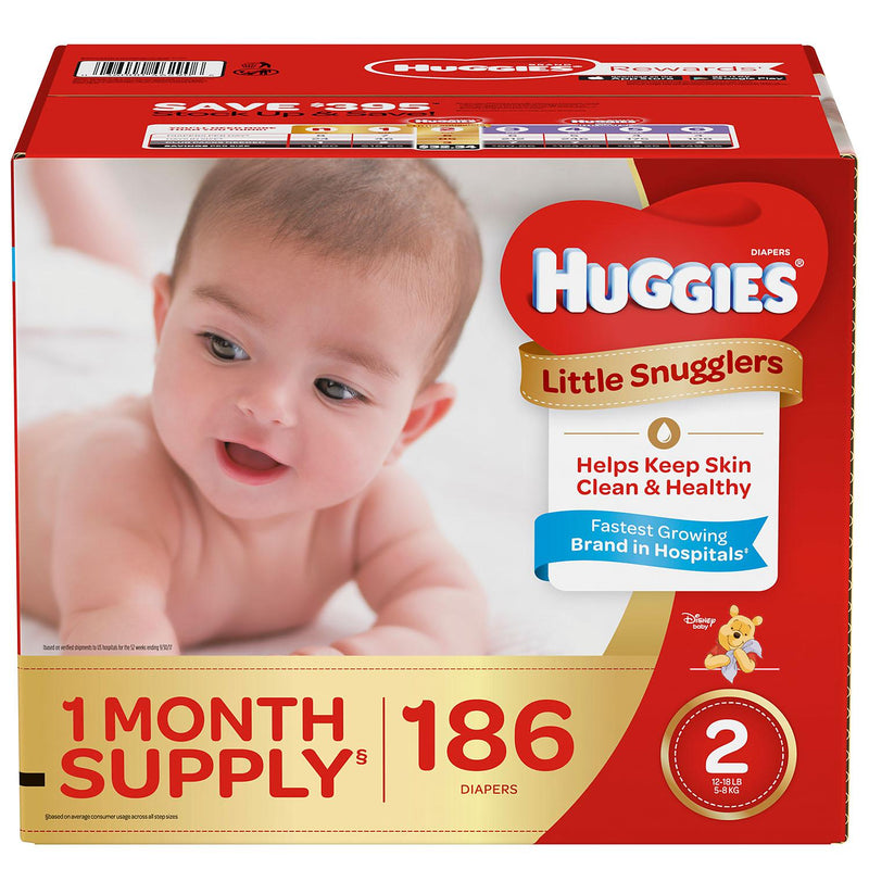 Huggies Little Snugglers Diapers ( Size 2 )