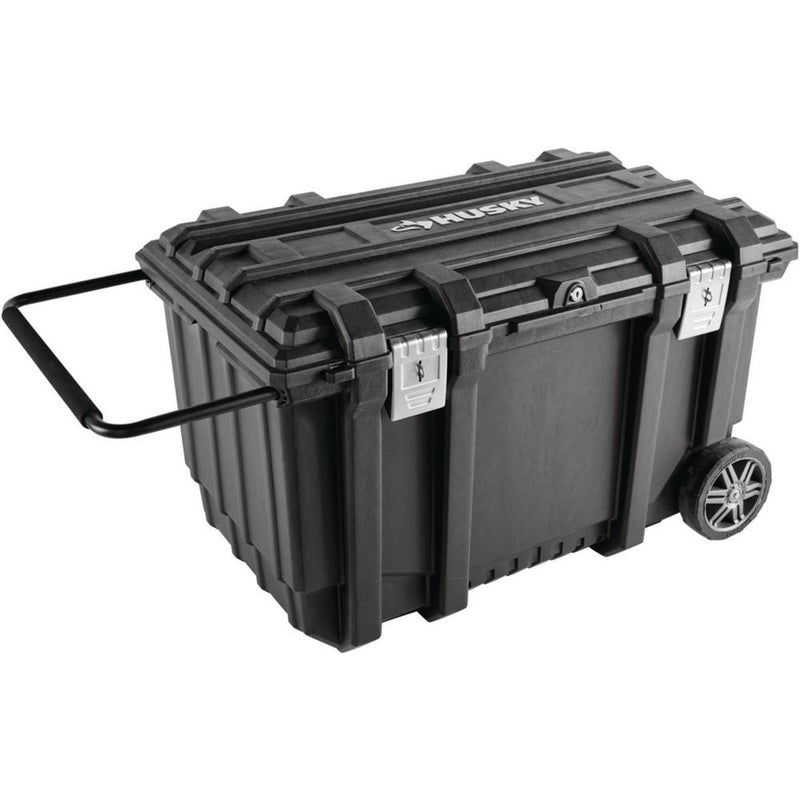 HUSKY Rolling Tool Box Utility (37 in.) (Color : Black ,50 Gal)
