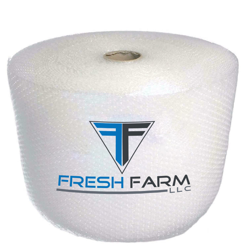 "BUBBLE WRAP® 700 ft x 12""- Small Bubble 3/16""- perforated every 12"" Core included (4 rolls x 175 ft = 700 ft)"