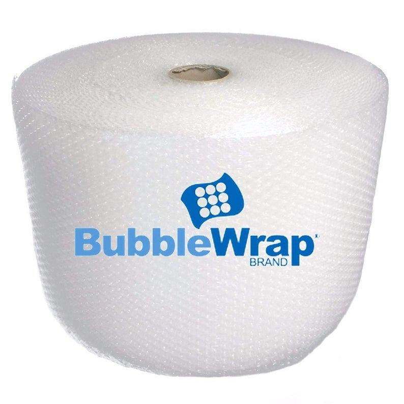"Bubble wrap 700 ft² (4 Rolls of 175 ft x 12"" Wide) - 3/16"" Small Bubble - Perforated Every 12''- with 10 Fragile Stickers by Fresh Farm LLC"